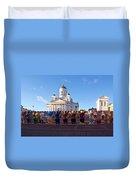 Helsinki Cathedral Duvet Cover