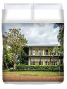 Hemingway House, Key West, Florida Duvet Cover