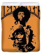 Hendrix 1967 Duvet Cover