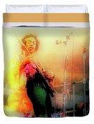 Hendrix Live Duvet Cover