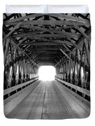 Henniker Covered Bridge Duvet Cover