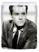 Henry Fonda, Hollywood Legend Duvet Cover