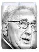 Henry Kissinger Duvet Cover