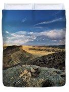 Henry Mountain Wsa Duvet Cover by Leland D Howard