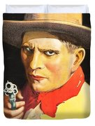 Henry Starr In A Debtor To The Law 1919 Duvet Cover