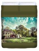 Henry Wadsworth Longfellow's Wayside Inn Gristmill, Sudbury, Massachusetts Duvet Cover