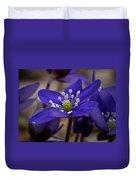 Hepatica 4  Duvet Cover