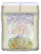 Her Craft And Wind Duvet Cover