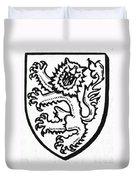 Heraldry: Lion Duvet Cover
