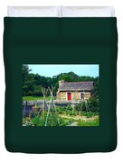 Herb And Vegetable Garden Duvet Cover