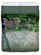 Herb Garden Walkway Duvet Cover