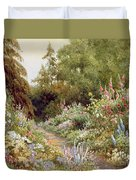 Herbaceous Border  Duvet Cover