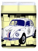 Herbie The Love Bug Duvet Cover