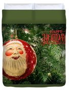 Here Comes Santa Claus Duvet Cover