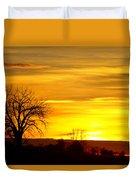 Here Comes The Sunrise Duvet Cover