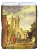 Hereford Cathedral Duvet Cover
