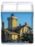 Hereford Inlet Lighthouse Duvet Cover