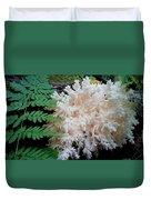 Mushroom Hericium Coralloid Duvet Cover