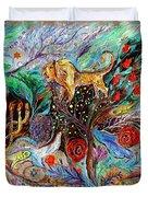 Heritage Series #1. Lion Of Judah Duvet Cover