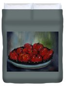 Heritage Tomatoes Duvet Cover