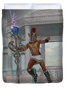 Hermes Messenger To The Gods Duvet Cover