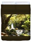 Hermon Stream Nature Reserve Banias Duvet Cover