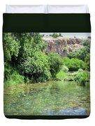 Hermon Stream Nature Reserve Duvet Cover