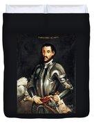 Hernando De Soto Duvet Cover