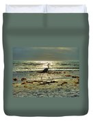 Heron Beachwalk Duvet Cover