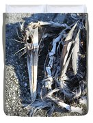 Heron Bones Duvet Cover