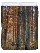 Heron Pond Dawn Duvet Cover