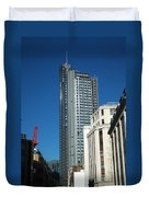 Heron Tower Duvet Cover