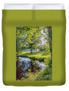 Herrevads Kloster By The Riverside Duvet Cover