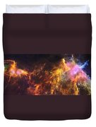Herschel's View Of The Horsehead Nebula Duvet Cover