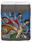 Hershey Ferris Wheel Of Color Duvet Cover