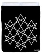 Hexagrammaton Duvet Cover