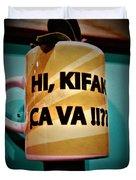 Hi Kifak Ca Va Mug In Lebanon  Duvet Cover