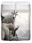 Hi We Are The Mountain Goats Duvet Cover