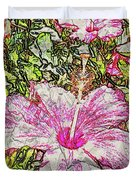 Hibiscus 101516 1a Duvet Cover