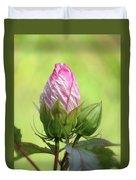Hibiscus Bud Beauty Duvet Cover