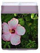 Hibiscus Flower Duvet Cover