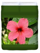 Hibiscus Front Duvet Cover
