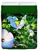 Hibiscus Garden Duvet Cover