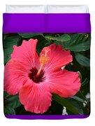 Hibiscus I Duvet Cover