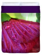 Hibiscus Square Duvet Cover