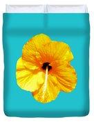 Hibiscus Test 4 Duvet Cover