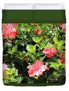 Hibiscus Tree Duvet Cover