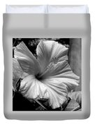 Hibiscus With An Infrared Effect Duvet Cover