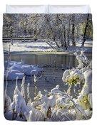 Hickory Nut Grove Landscape Duvet Cover