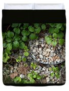 Hidden Bucket Of Rocks Duvet Cover